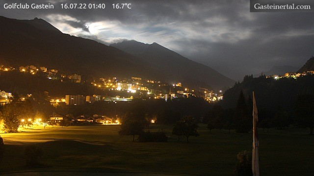 Webcam courtesy of www.golfclub-gastein.com
