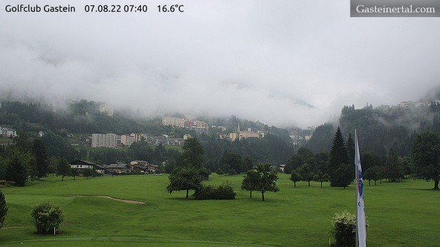Golfurlaub in Gastein : Webcam